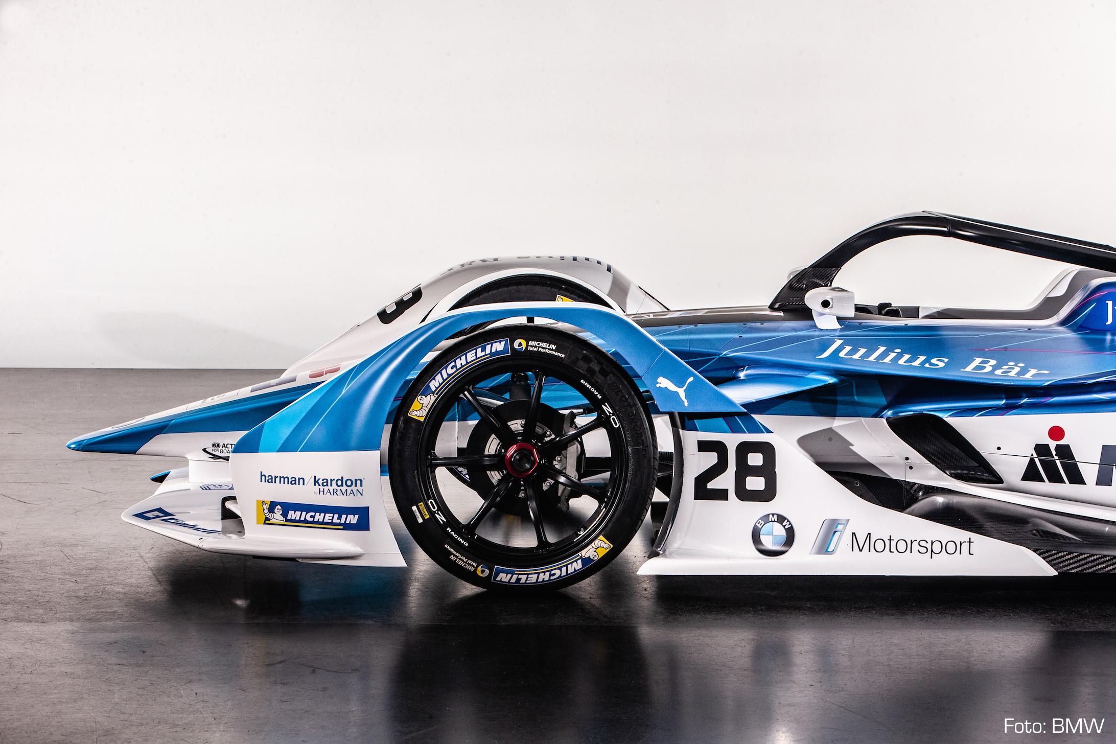 formel e: bmw zeigt neues auto und team - motorfuture